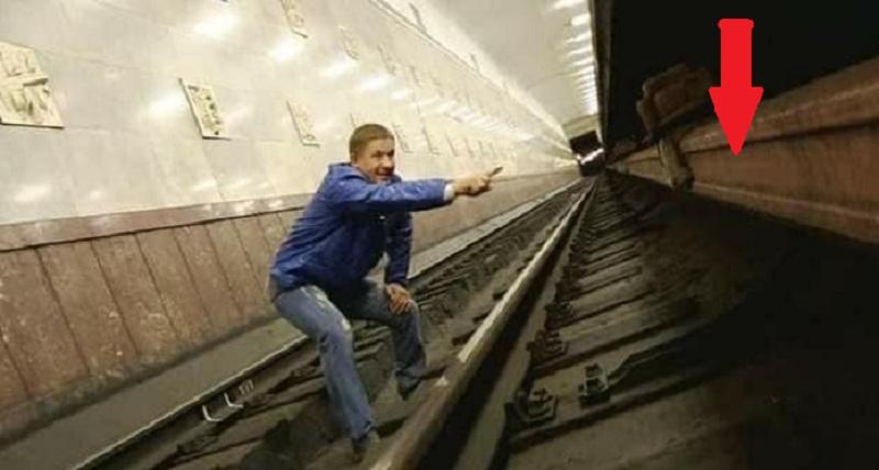 Це має знати кожен! Що не можна робити в жодному разі якщо звалився з платформи в метро та як вибратися! (ФОТО)