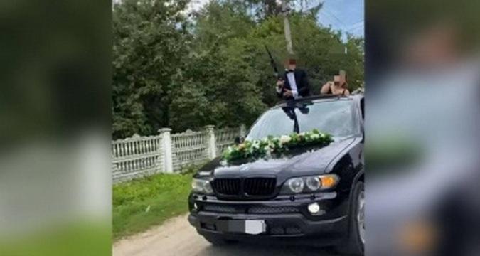 Наречений на Буковині влаштував стрілянину на власному весіллі! А далі… (ВІДЕО)