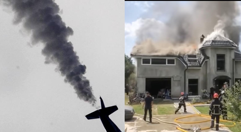 Година 14:00 на Прикарпатті виявивилась моторошною! Літак впав прямо на людський будинок, загинули чотири людини…