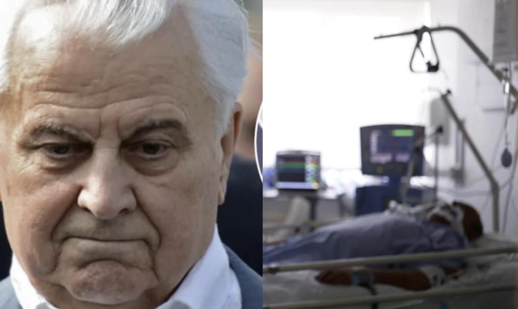 Найкращі лікарі роблять все, що в їх силах але… Леоніда Кравчука підключили до ШВЛ і він вже майже місяць перебуває в реанімації