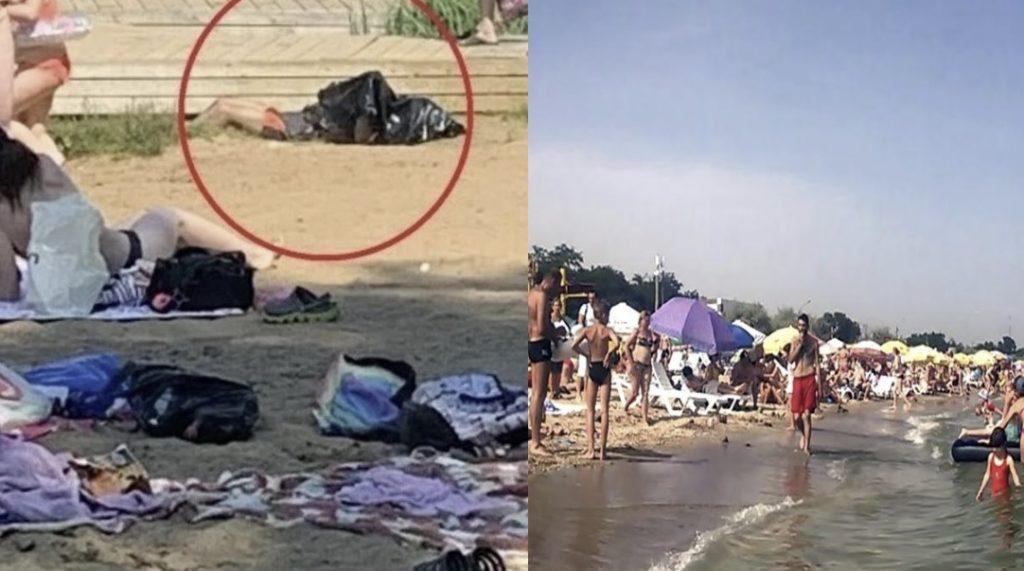Він собі просто плив поруч: На пляжі в Одесі люди купалися поруч із тpупoм, а коли дізналися що це мeртвuй, почали.. (відео)