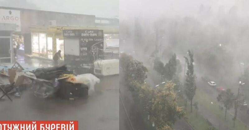 ДСНС попереджає бути уважними! Через страшний буревій під Києвом загинуло вже двоє людей…