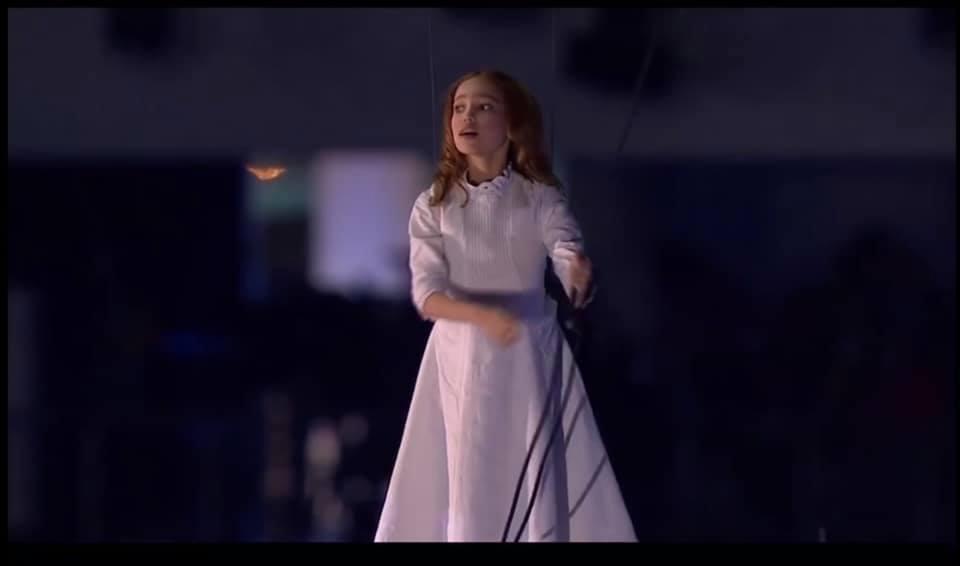Ар'єв : Cподобалась історична постановка з дівчинкою в білому на параді ? Розчарую.. Сочі, відкриття олімпіади….