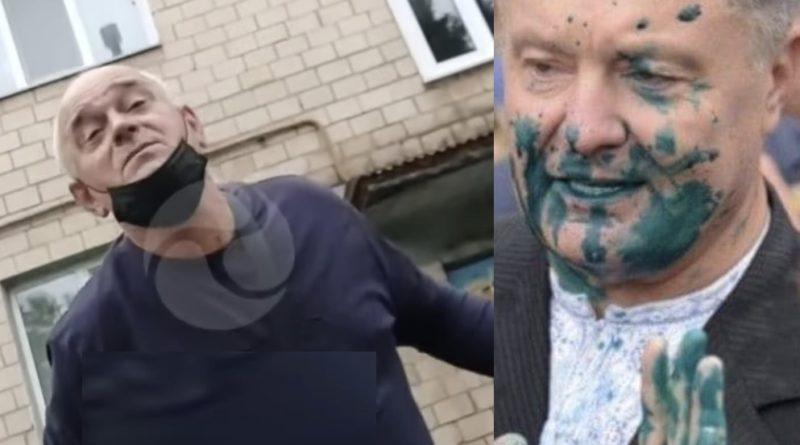 Журналісти знайшли батька хлопця, який облив Прошенка зеленкою, тепер вже все відомо хто замовив і хто та скільки заплатив (Відео)