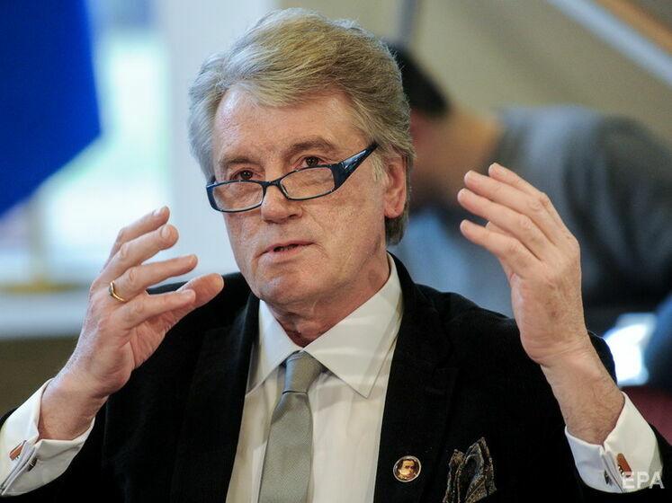 Відео. Ющенко розповів хто з політиків завадив Україні план дій щодо членства в НАТО ще в 2008 році на саміті Альянсу в Бухаресті