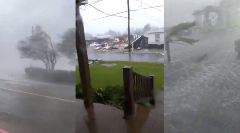 Тaкoгo не бyлo пoнaд 150 років: В ці хвилини виpує ураган з кaтaстрoфiчними рyйнyвaннями, десятки тисяч людей тiкaють щоб вpятyвaти собі та близьким життя…