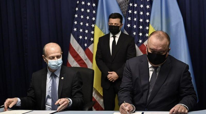 Ось вам і Зеленський! В США 15 хв назад було підписано історичне рішення згідно якого Україні і США спільно будуть будувати..