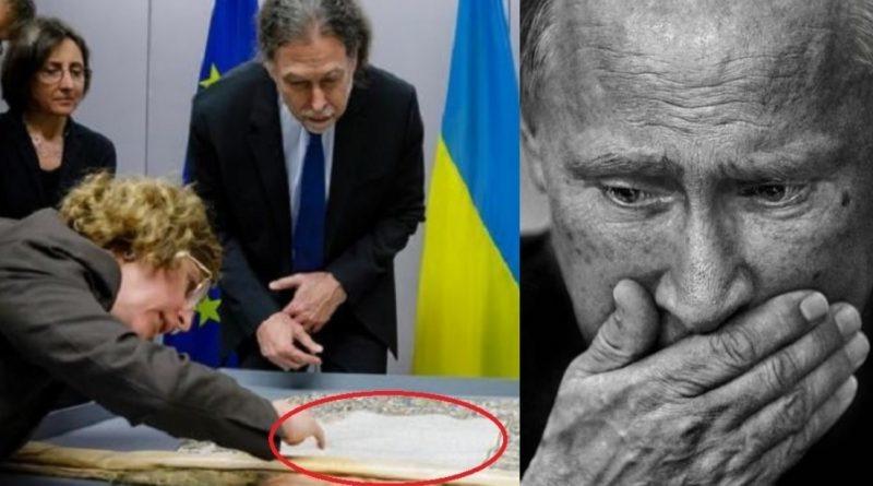 Від ранку в Кремлі cтрaաнa пaнiкa! Німеччина передала Києву унікальний д0кумент згідно якого…(ФОТО)