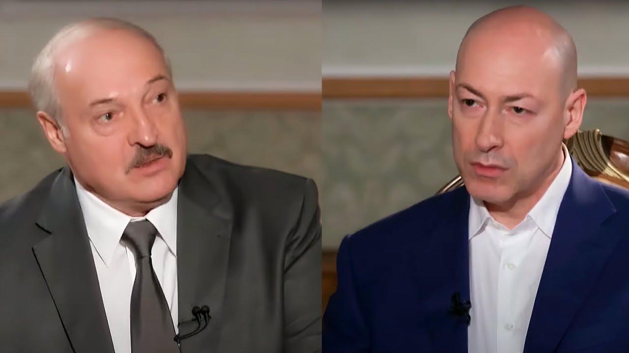 """Гордон →Лукашенку: """"Я думав Ви людина, але після вчорашнього зрозумів, Ви справжній деспот і розбійник, в чистому вигляді! Я думав, що вас зметуть, знесуть, але, на жаль, білоруси виявилися не такими рішучими, як українці."""""""
