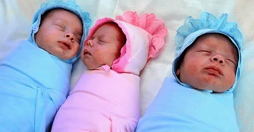 Аня чотири дні назад народила дівчинку, але з пологового будинку приїхала ще й з двома хлопчиками