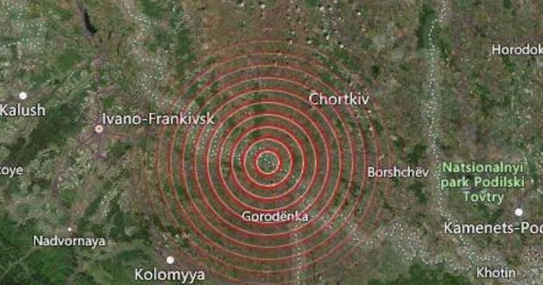 Терміново! Сьогодні зранку, неподалік Івано-Франківська стався землетрус…