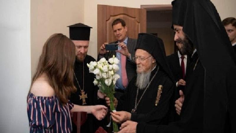 Під час молитви Патріарха Варфоломія з Мартою Мартиненко з Волині сталося диво (ФОТО)