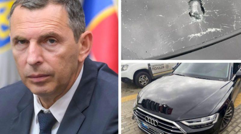 З'явилися фото та відео обстріляного авто зама Зеленського, лікарі в ці хвилини боряться за життя водія Шефіра
