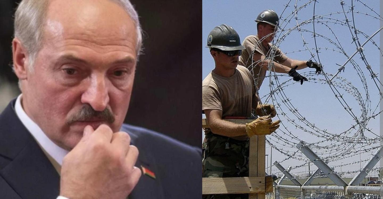 Лукашенко догрався: Європа з сьогоднішнього дня розпочала відгородження від Білорусі колючим дротом, а Латвія приступає до будівництва паркану