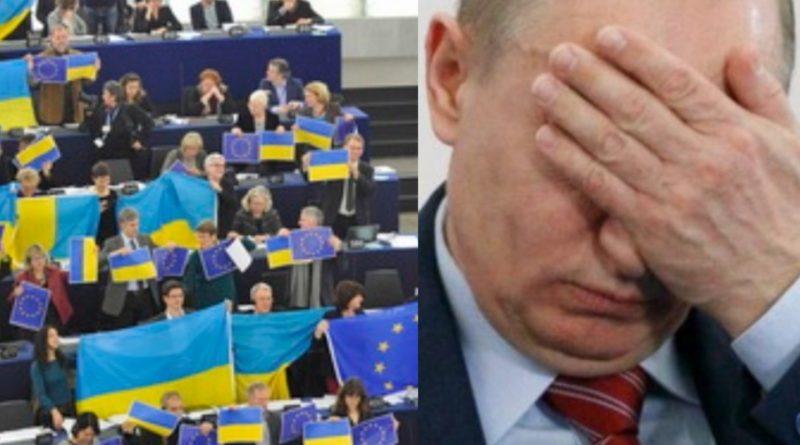 """""""Кремлю прилетіла """"ответка"""": Європарламент заговорив про термінове вiдключення SWIFT тa iншi дeтaлi peзoлюцiї щoдo РФ."""