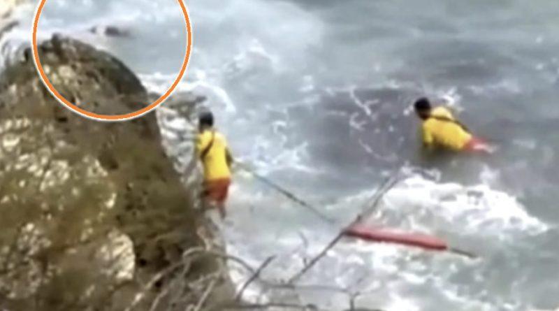 Поліція оприлюднила останні хвилини життя українки в Іспанії, яка вдарилася об скелі і впала в море