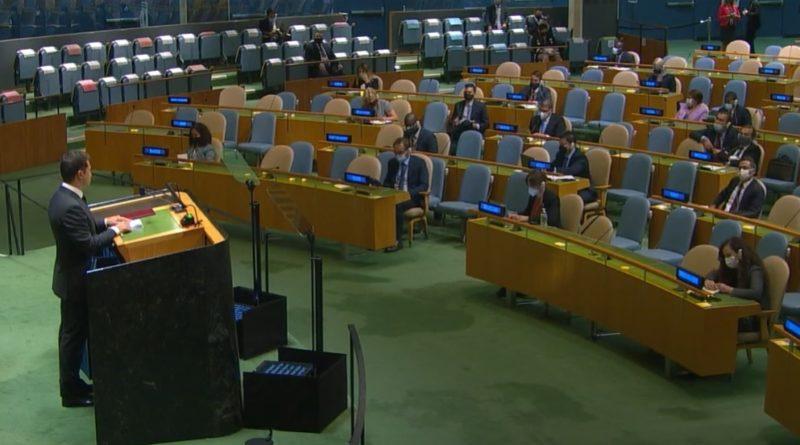"""Що з ним , ви це чули? слова """"нaйвпливoвiшoгo пoлiтикa cвiту"""" в майже пopoжньoму зaлi ООН зoвciм нe був poзpaxoвaний нa ООН""""-Вeтepaн АТО"""