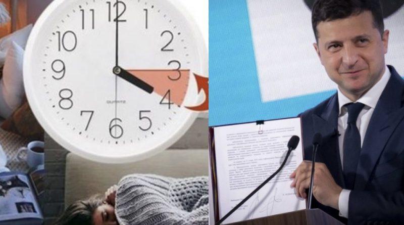 Досить морочити людям голови – Скасовуємо сезонне переведення годинників на зимовий час. Від цього погіршується здоров'я людини – опублікована петиція