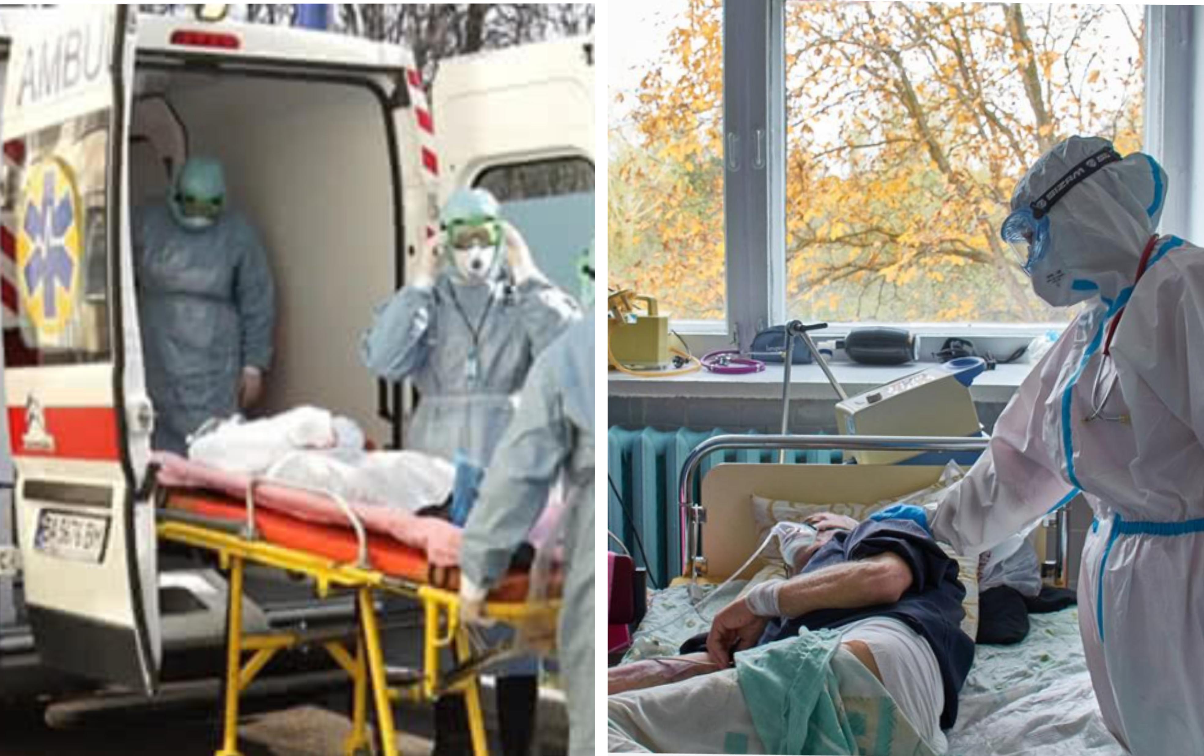 Сумна статистика: В Україні COVID-19 не зменшує обертів: за добу знову понад 20 тисяч нових випадків…