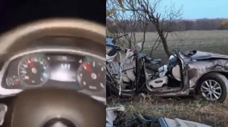 В мережу злили відео останніх хвилин життя з салону авто в якому загинули 4 підлітків на херсонщині